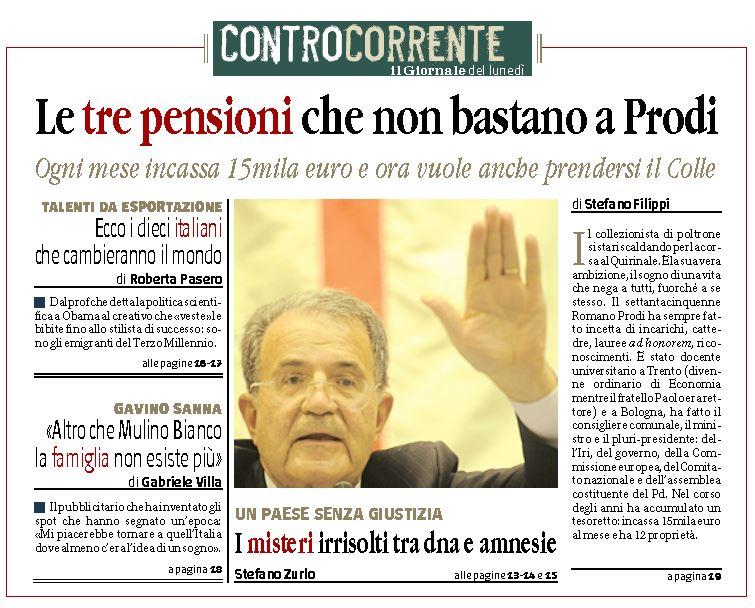 romano prodi giornale 1