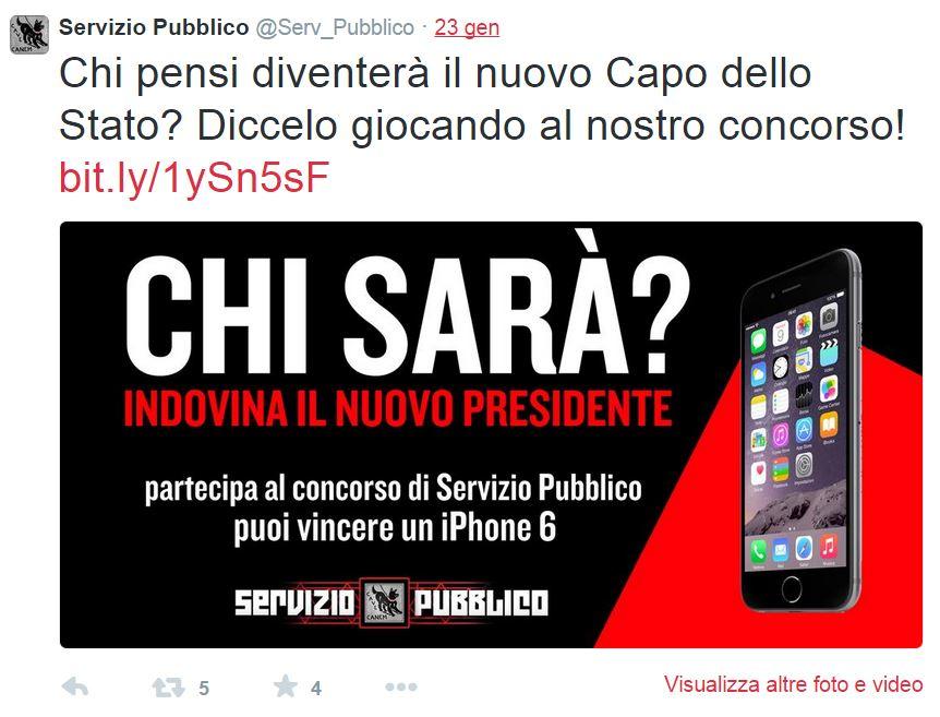 servizio pubblico iphone 6