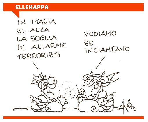soglia allarme terroristi italia