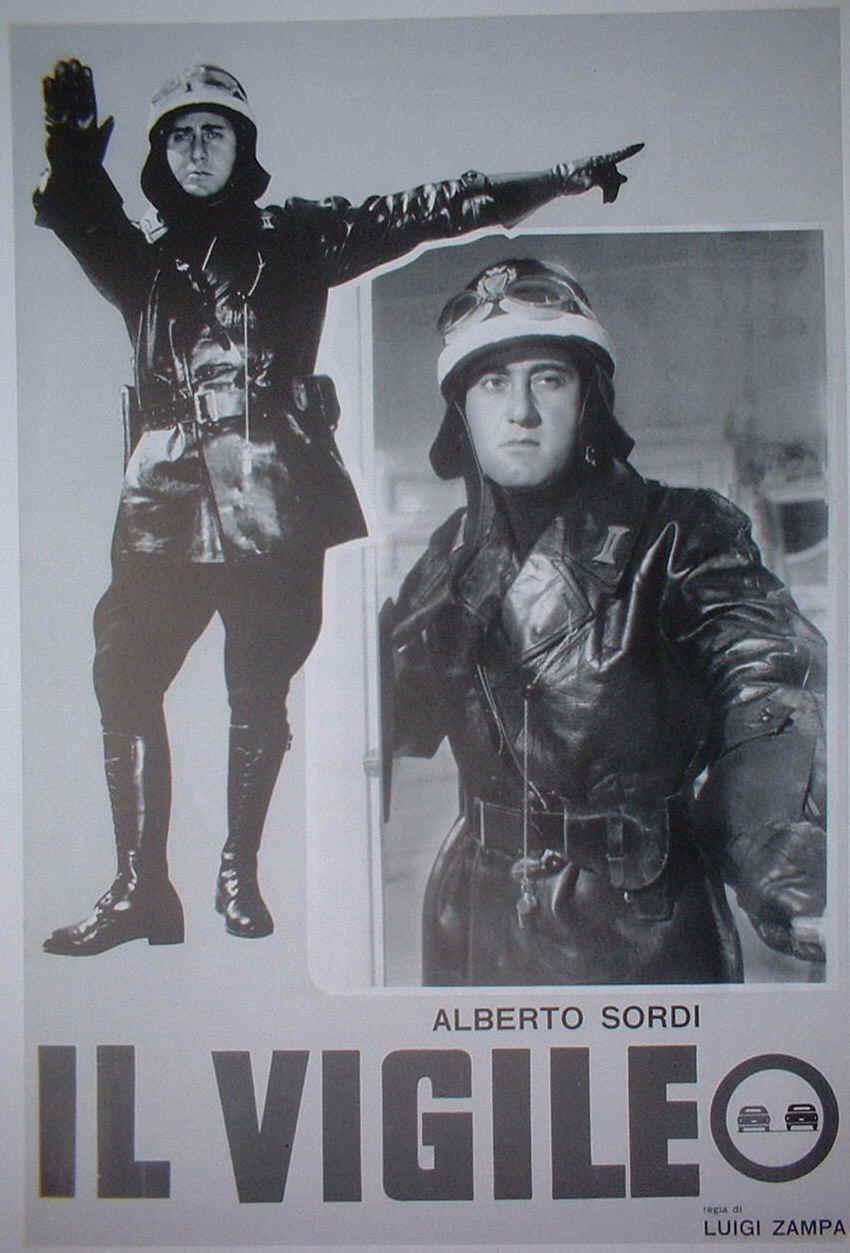 Il vigile, film di Luigi Zampa (Locandina)