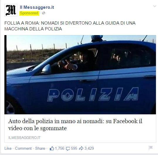 auto polizia nomadi 1