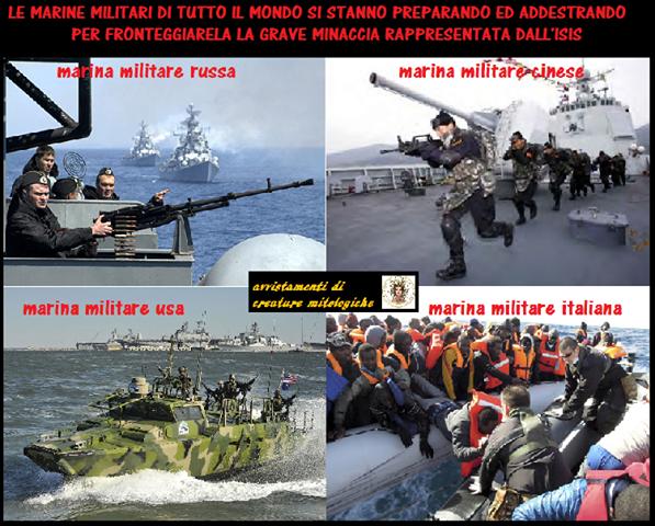 dimissioni marina militare isis