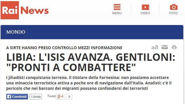 governo libia isis 1