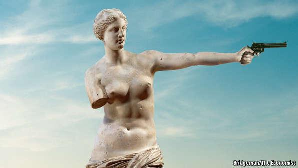 La vignetta dell'Economist sulla trattativa Grecia-Europa