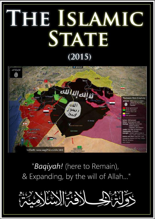La copertina dell'Ebook sulla strategia del califfato