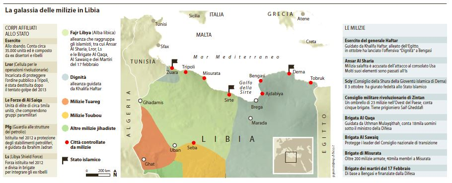 isis italia guerra libia
