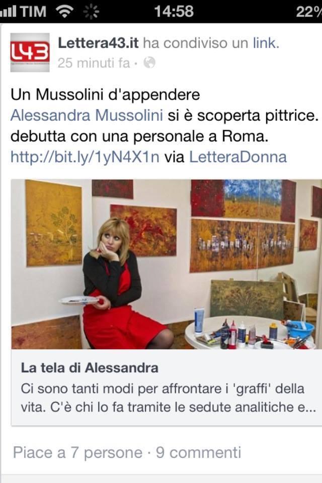 E chi non vorrebbe un bel Mussolini da appendere in casa?