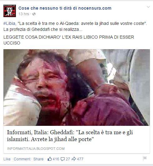libia isis nocensura fb