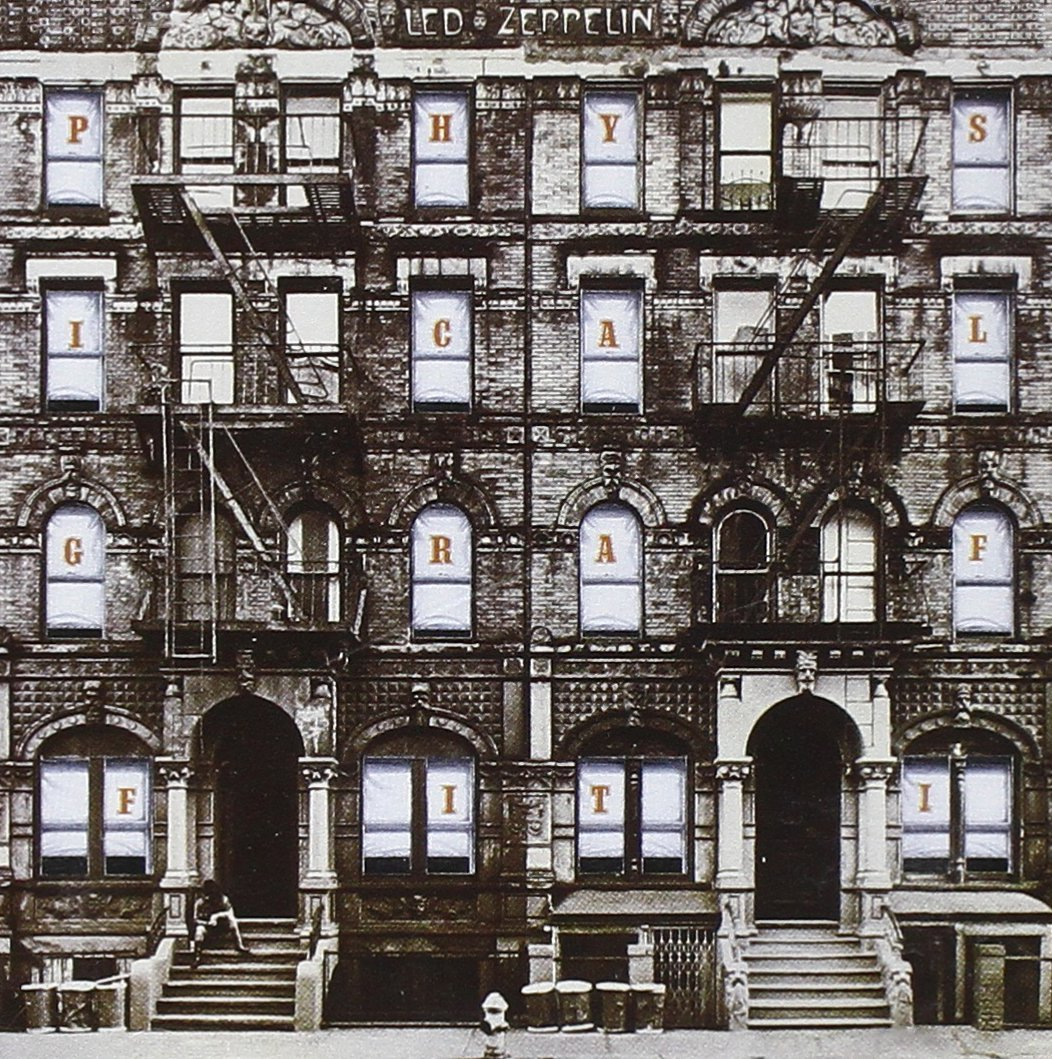 La copertina interna di Physical Graffiti