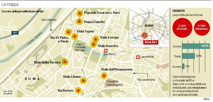 erot video mappa prostitute roma