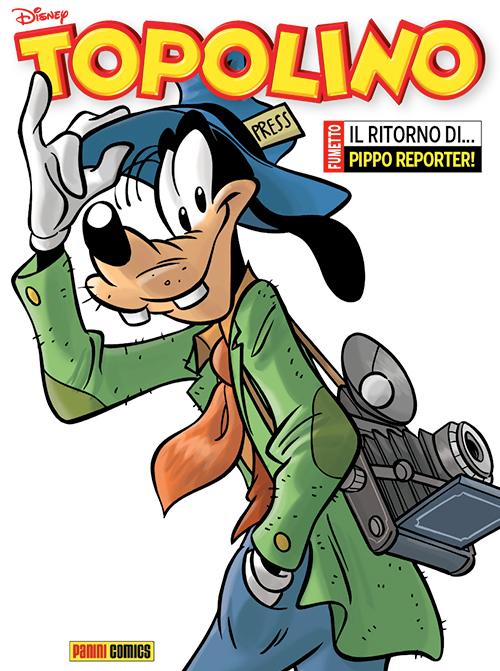La copertina definitiva del numero 3089 di Topolino da oggi in edicola (fonte: Fumettologica.it)