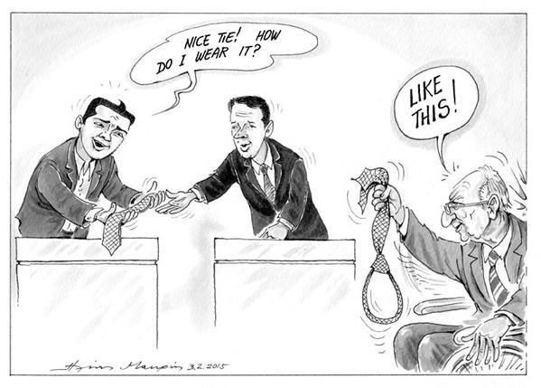 La vignetta di Kathimerini