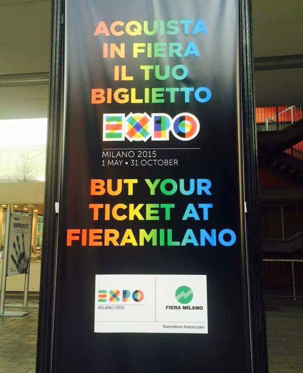 but your ticket fieramilano