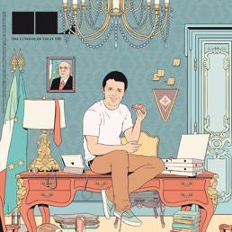 La copertina di IL dedicata ai cento giorni di governo Renzi