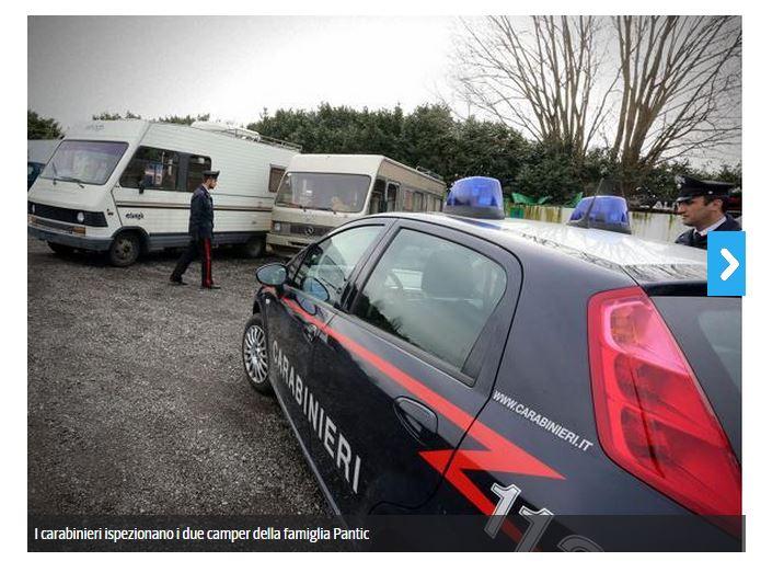 il camper della vittima (fonte: http://bergamo.corriere.it/)