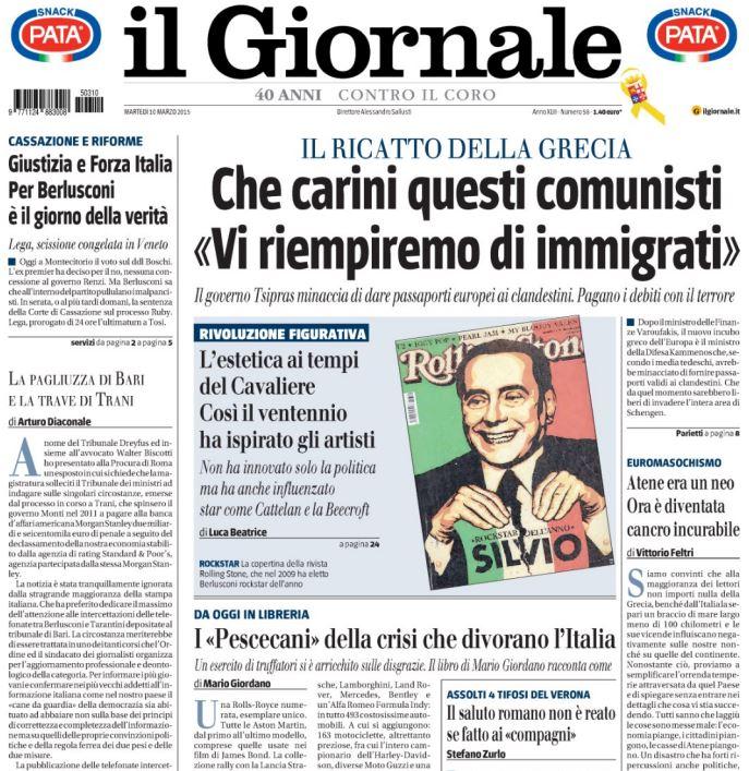 giornale comunisti immigrati