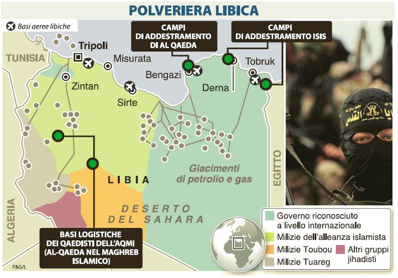 libia base terroristi