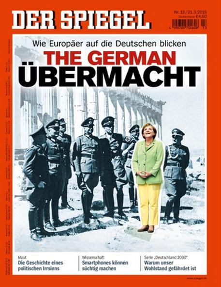 merkel nazisti spiegel