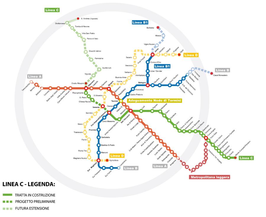 metro c roma d