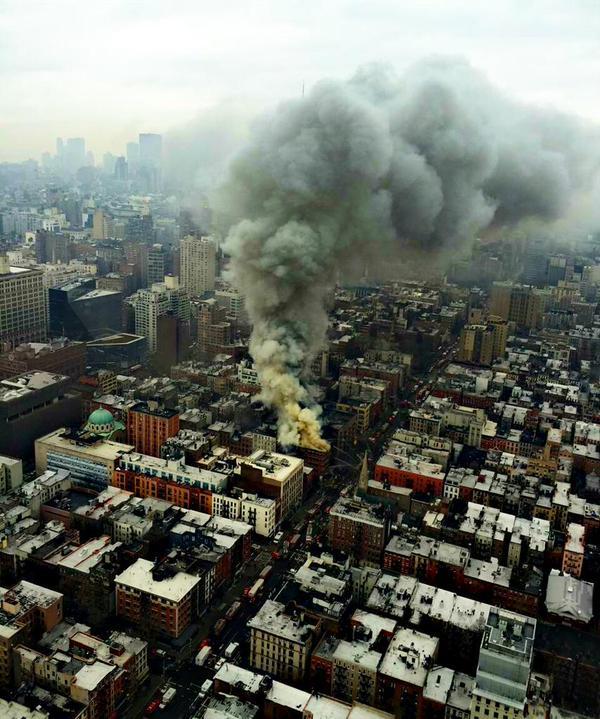 Foto dall'alto di Manhattan 1 (Fonte foto: ITV NEws)