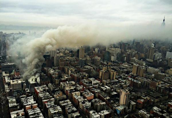 Foto dall'alto di Manhattan 2 (fonte foto: ITV News)