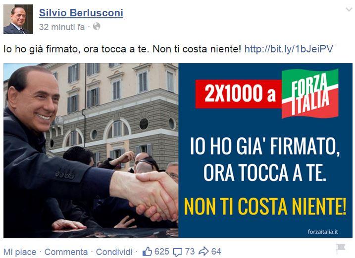 silvio soldi forza italia