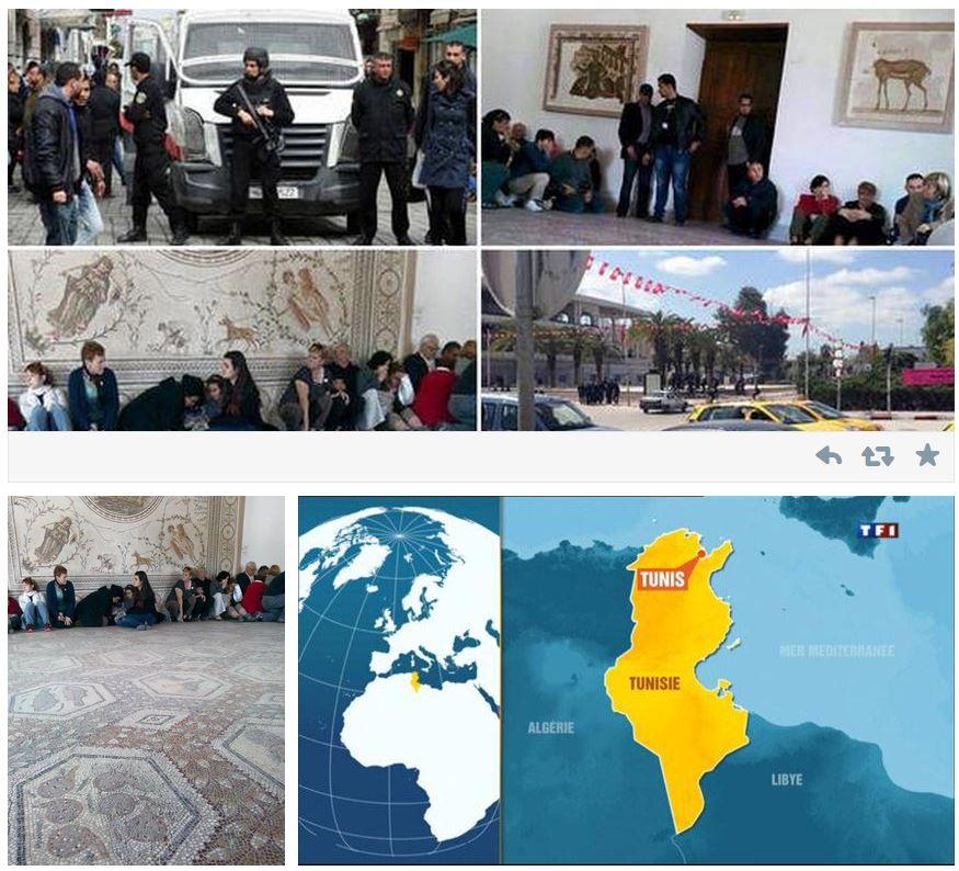 turisti italiani bardo museum tunisi