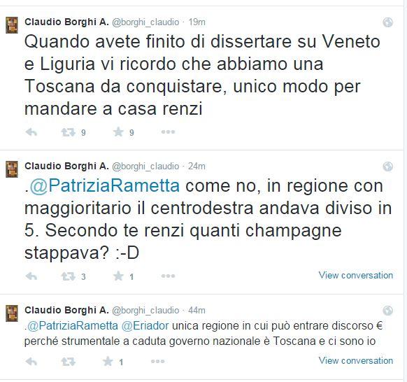 Così parlò Claudio Borghi, probabile candidato della Lega alla Presidenza in Toscana