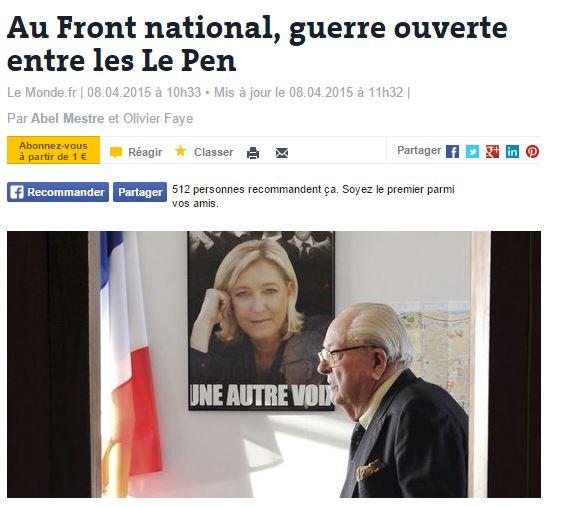 JEAN MARIE MARINE LE PEN 1