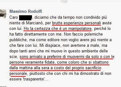 Massimo Rodolfi Rosario Marcianò scie chimiche