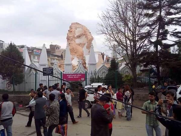 dharahara terremoto nepal