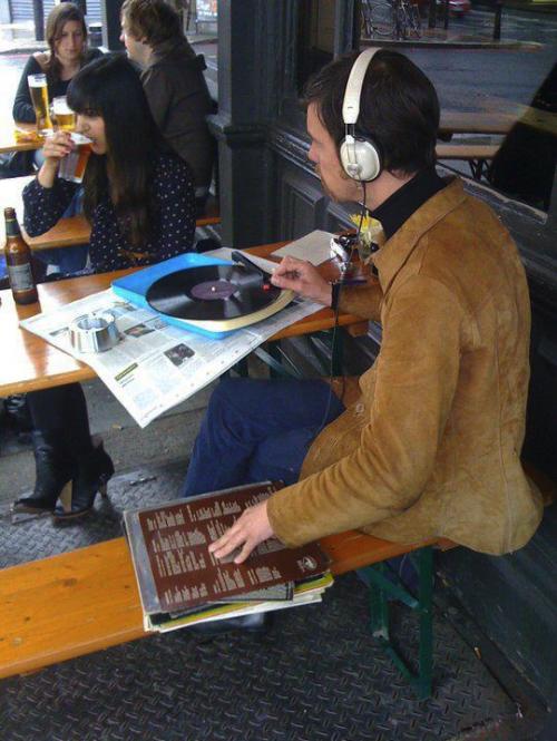hipster vinile