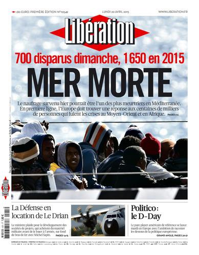 liberation prima pagina