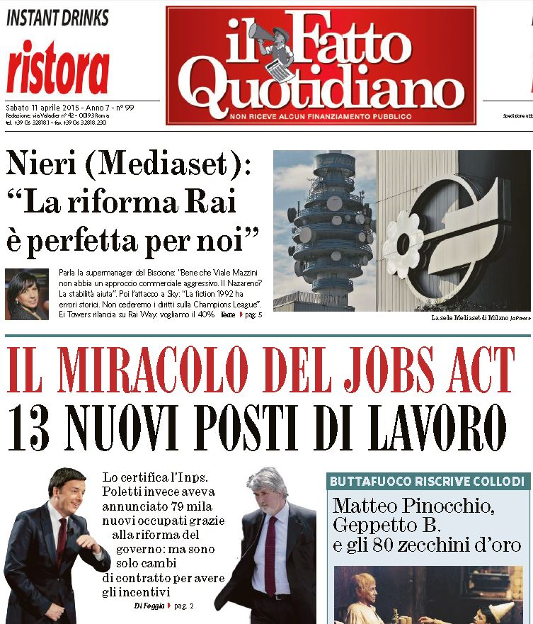 miracolo jobs act