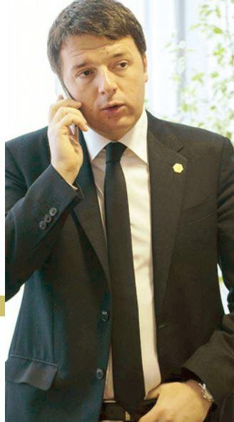 renzi telefonate intercettate ischia