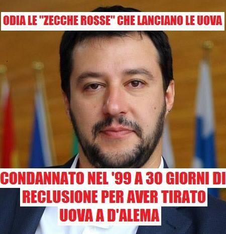 via Leggere i post di Salvini per sentirsi una persona migliore /Facebook.com