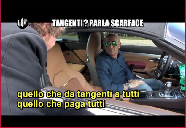 Buongiorno so Scarface (fonte: iene.mediaset.it)