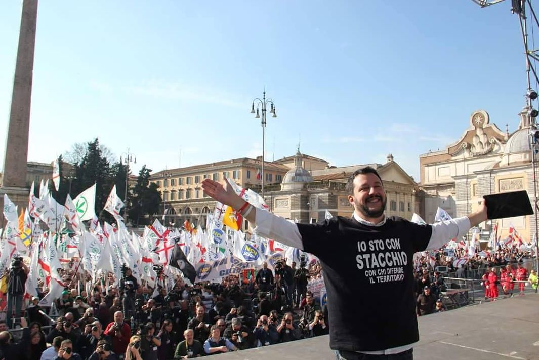 L'effetto Salvini (via Facebook.com)