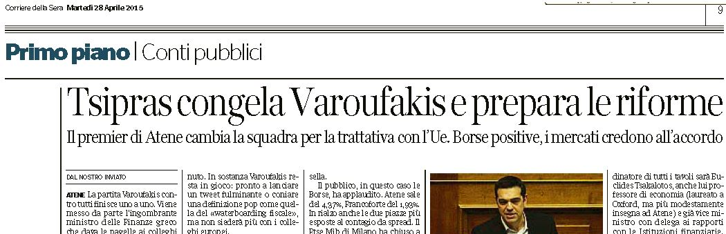 varoufakis commissariamento 1