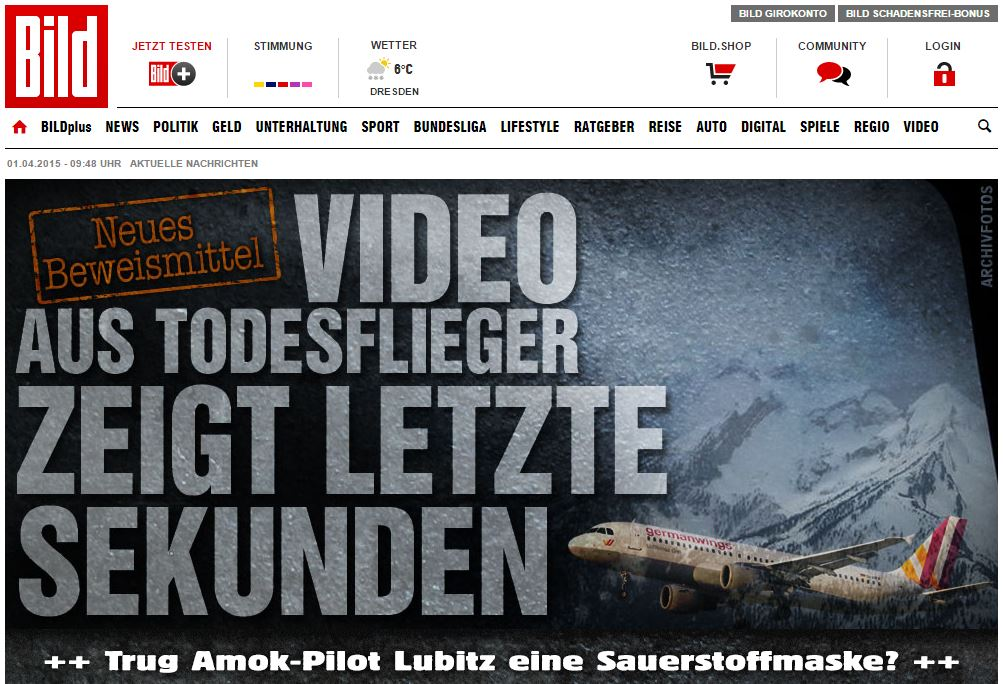 video airbus a320 andreas lubitz 1