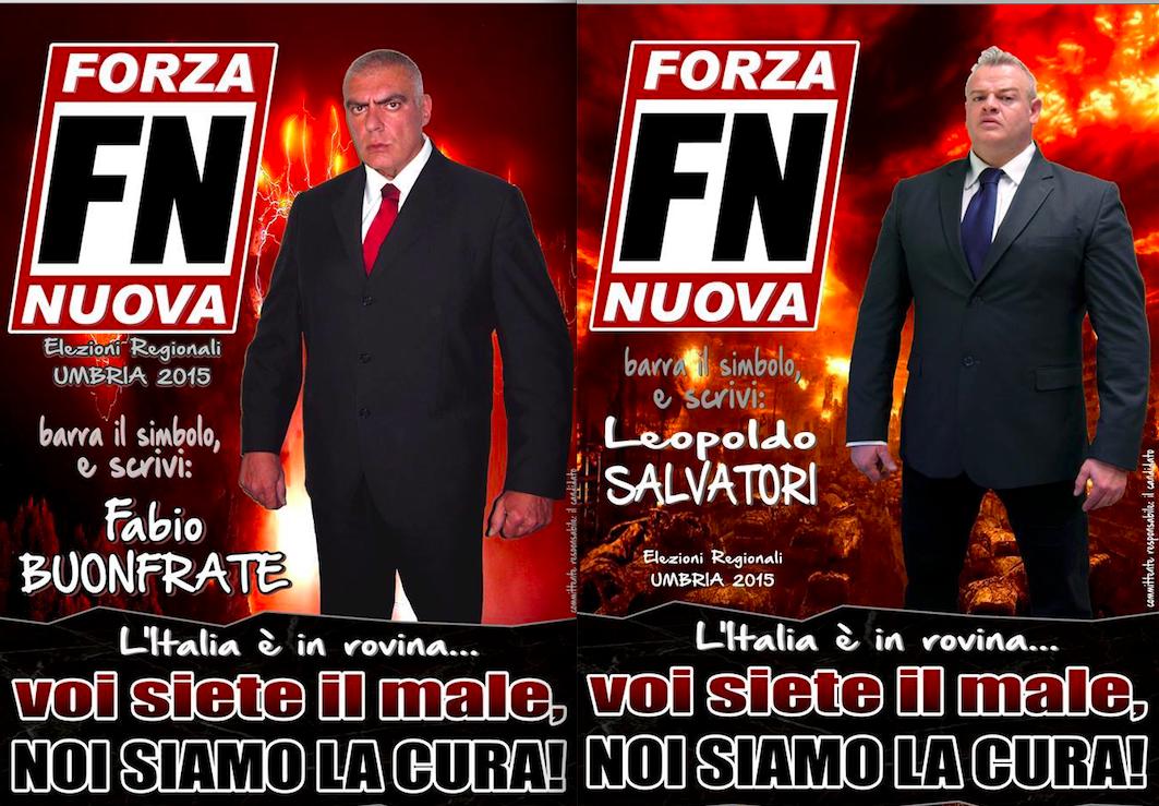 FORZA NUOVA umbria 2015