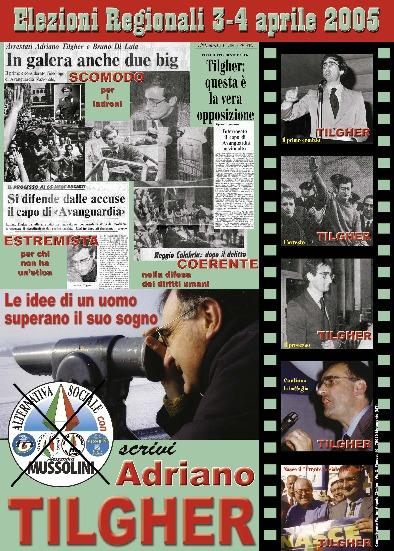Adriano Tilgher candidato con
