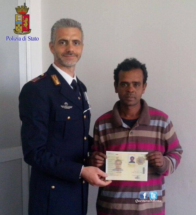 Il cittadino bengalese premiato con il permesso di for Polizia di stato caserta permesso di soggiorno