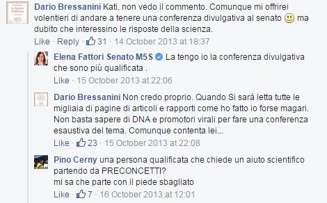 dario bressanini fattori 2013