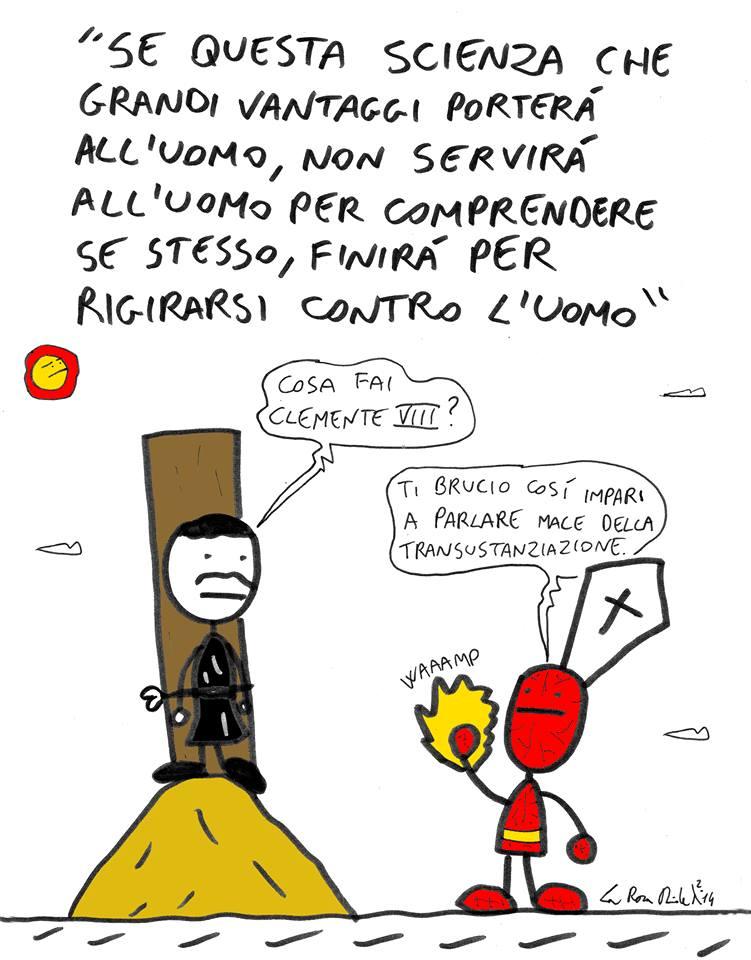 """Un disegno """"blasfemo"""" di Davide La Rosa"""