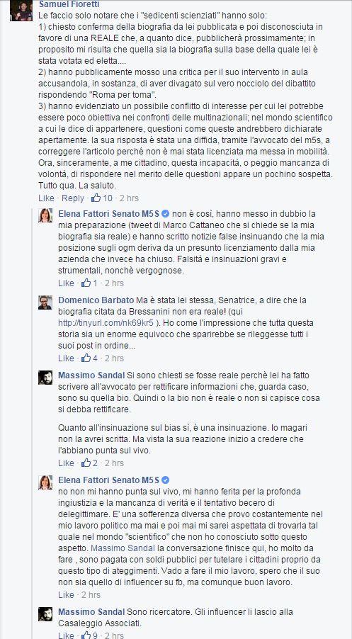 Elena Fattori contro gli influencer pakati
