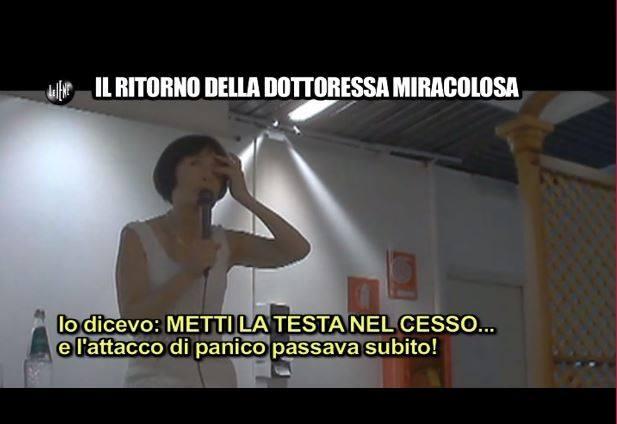 Come curare gli attacchi di panico secondo Gabriella Mereu (fonte: iene.mediaset.it)