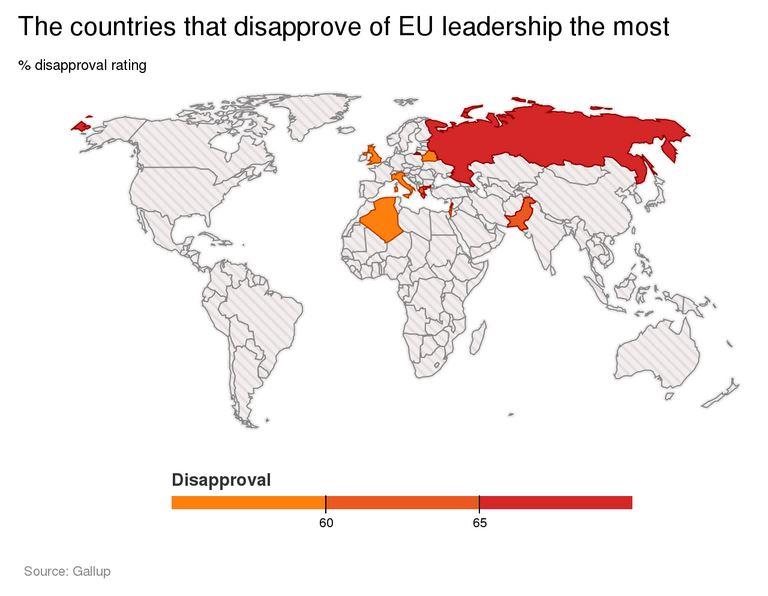 Agli italiani e agli inglesi non piace la UE (fonte: independent.co.uk)