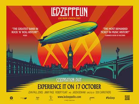 led zeppelin celebration day pd
