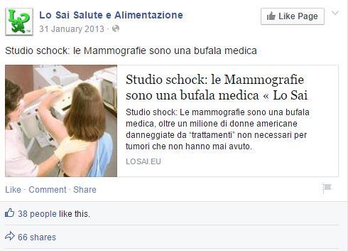 lo sai mammografie